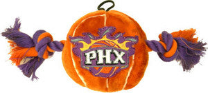 Phoenix Suns Basketball Plush and Rope Toy