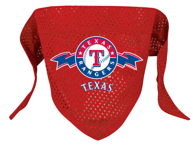 Texas Rangers Dog Bandana (Discontinued)