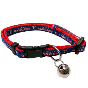 Texas Rangers Cat Collar