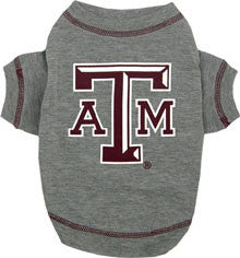 Texas A&M Aggies Dog T-Shirt (Discontinued)