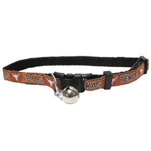 Texas Longhorns Cat Collar