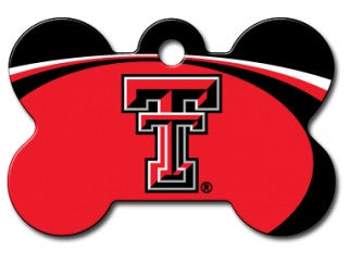 Texas Tech Red Raiders Dog ID Tag