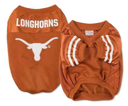Texas Longhorns Dog Jersey (Discontinued)