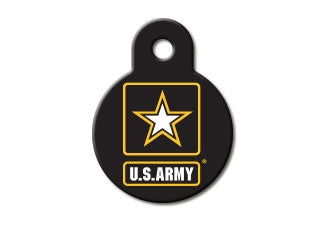 US Army Circle ID Tag