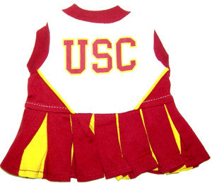 Southern California Trojans Dog Cheerleader Uniform