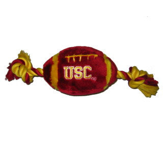 Southern California Trojans Plush Football Rope Toy