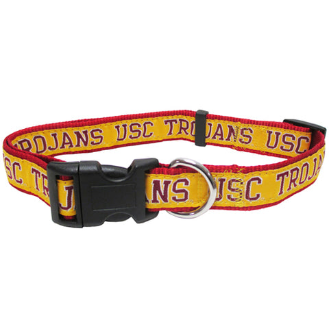 Southern California Trojans Dog Collar