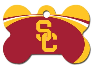 Southern California Trojans Dog ID Tag