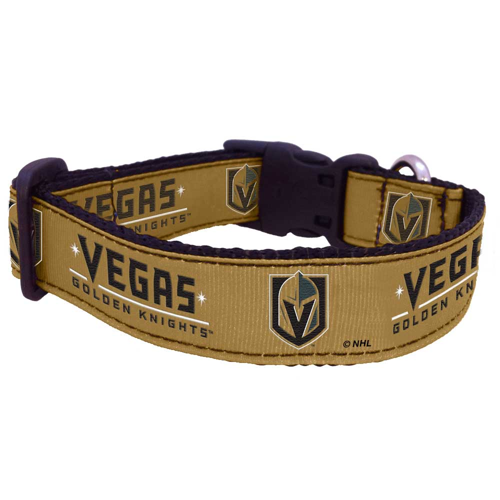 Vegas Golden Knights Premium Dog Collar