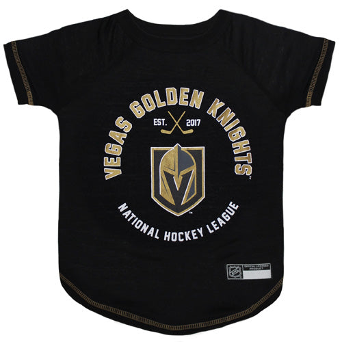 Vegas Golden Knights Dog T-Shirt