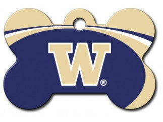 Washington Huskies Dog ID Tag