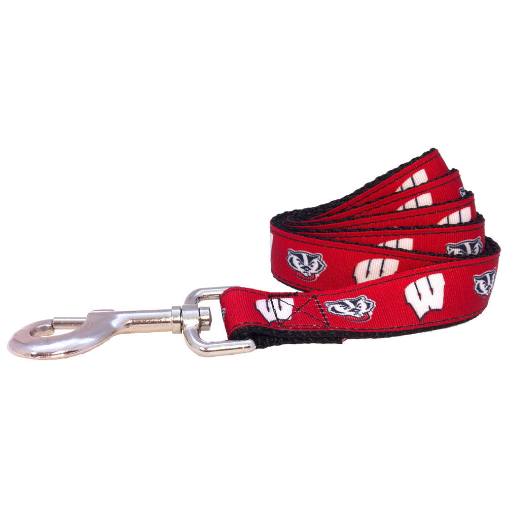 Wisconsin Badgers Premium Dog Leash