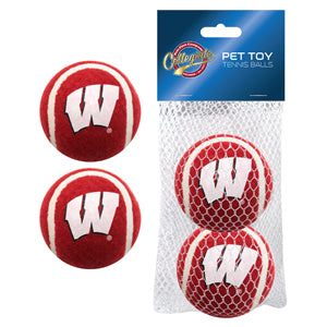 Wisconsin Badgers Tennis Ball 2-pack