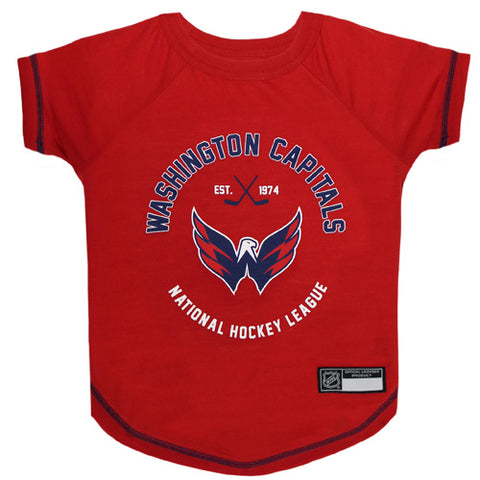 Washington Capitals Dog T-Shirt