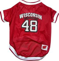 Wisconsin Badgers Dog Jersey (Discontinued)