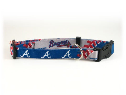 Atlanta Braves Dog Collar 2 (Discontinued)