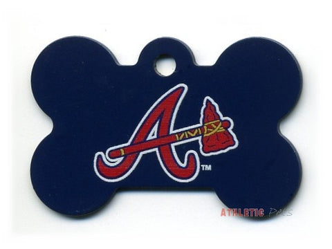 Atlanta Braves Dog ID Tag