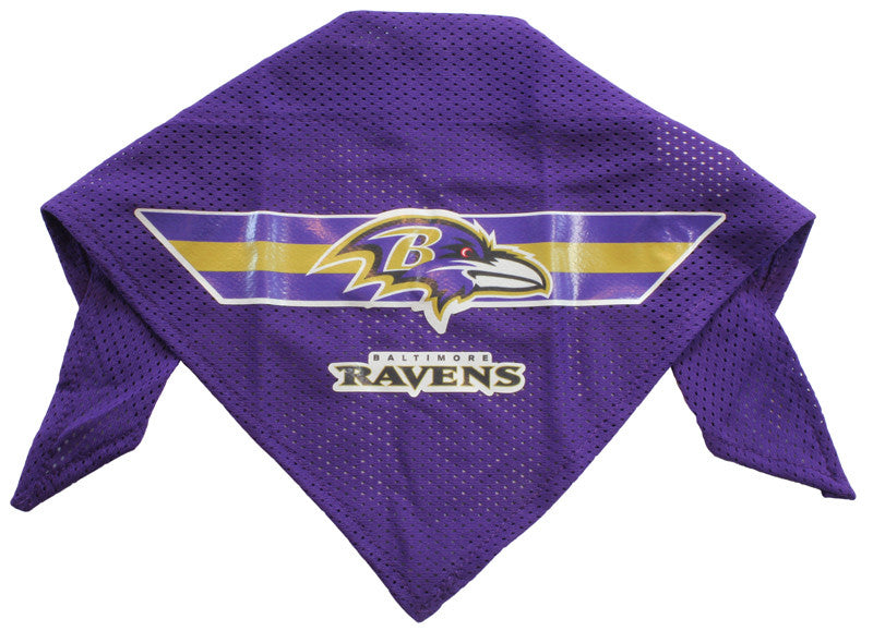 Baltimore Ravens Dog Bandana