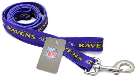 Baltimore Ravens Dog Leash (Discontinued)