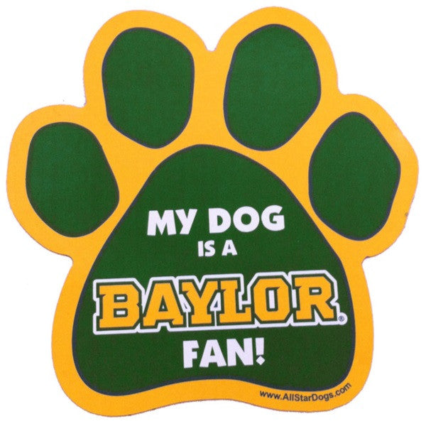 Baylor University Bears Car Magnet