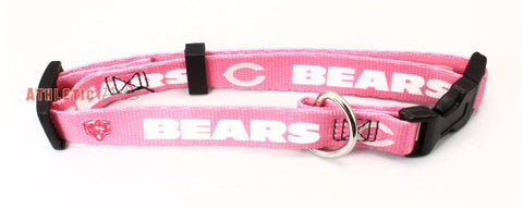 Chicago Bears Pink Dog Collar (Discontinued)