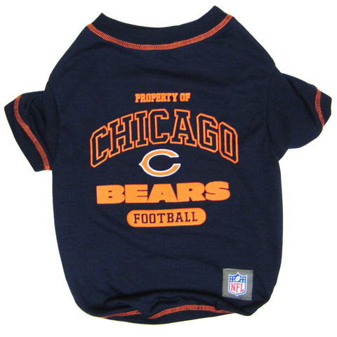 Chicago Bears Dog T-Shirt