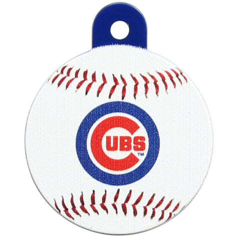 Chicago Cubs Round Baseball Dog ID Tag