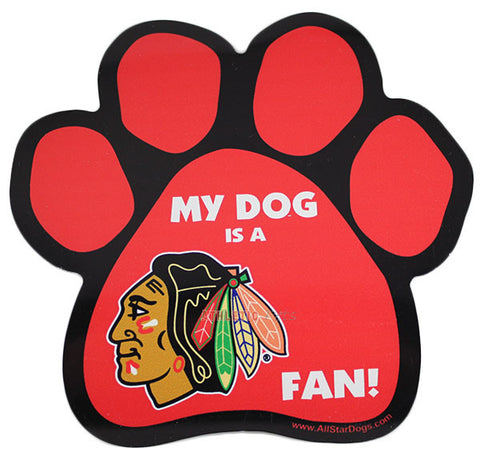 Chicago Blackhawks Car Magnet