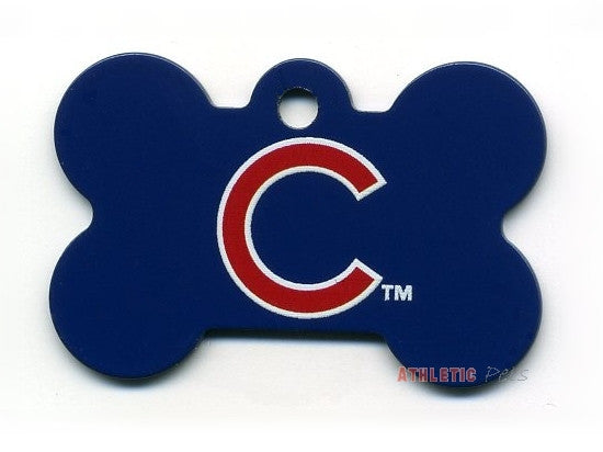 new product 2ad86 eb5bc Chicago Cubs Dog ID Tag