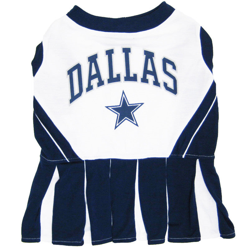 Dallas Cowboys Dog Cheerleader Uniform