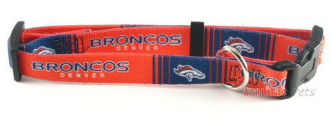 Denver Broncos Dog Collar 2 (Discontinued)