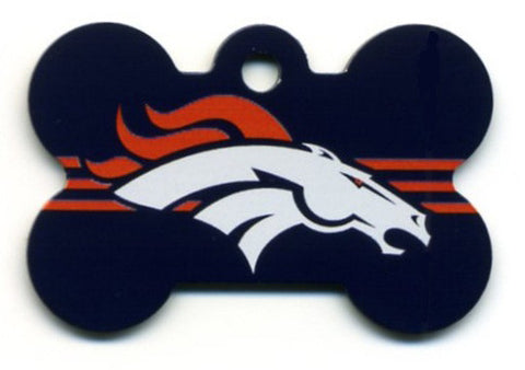 Denver Broncos Dog ID Tag