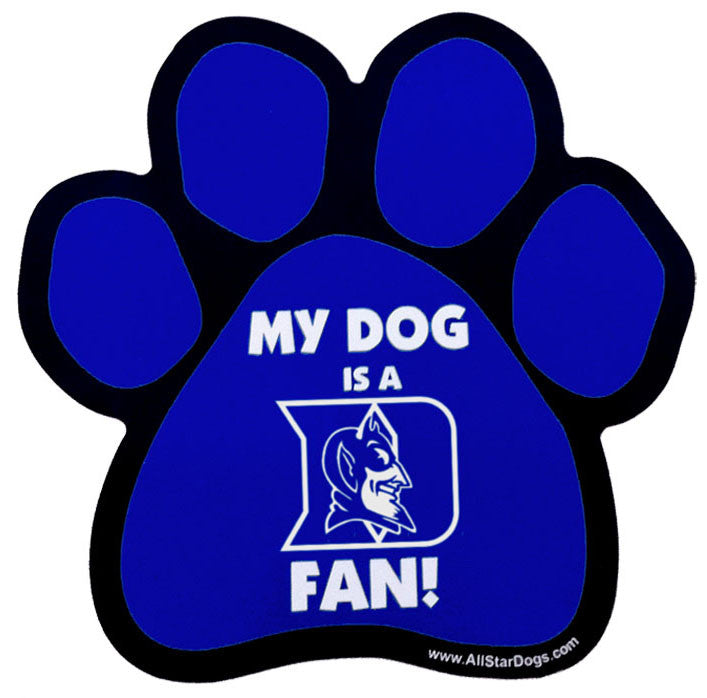 Duke Blue Devils Car Magnet