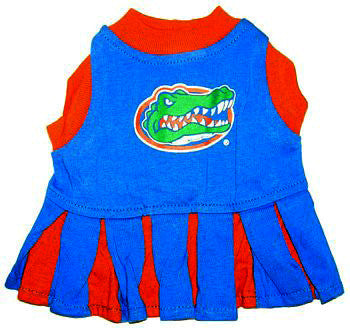 Florida Gators Dog Cheerleader Uniform