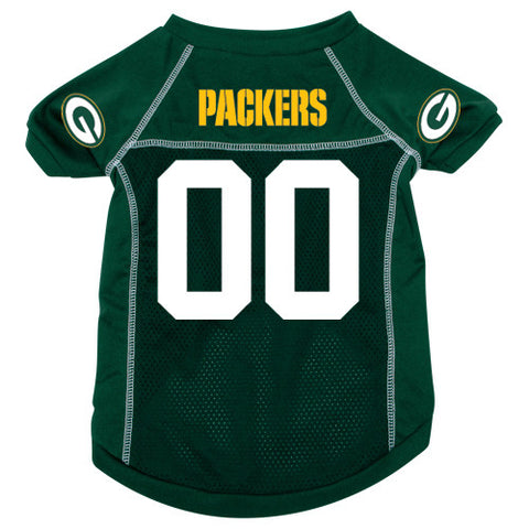 Green Bay Packers Dog Jersey (Discontinued)