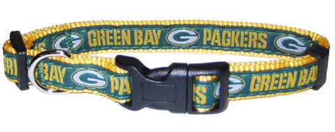 Green Bay Packers Dog Collar