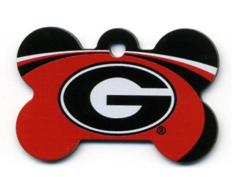 Georgia Bulldogs Dog ID Tag