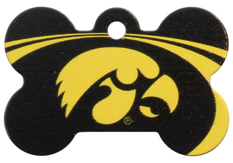 Iowa Hawkeyes Dog ID Tag