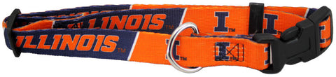Illinois Fighting Illini Dog Collar (Discontinued)