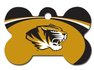 Missouri Tigers Dog ID Tag