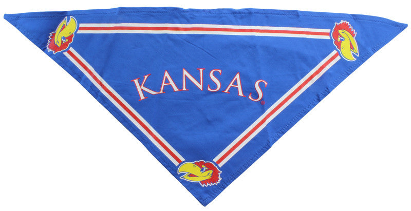 Kansas Jayhawks Dog Bandana (Discontinued)
