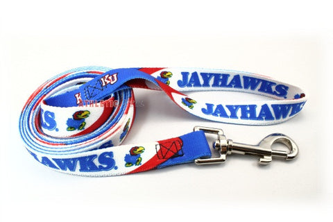 Kansas Jayhawks Dog Leash 2 (Discontinued)