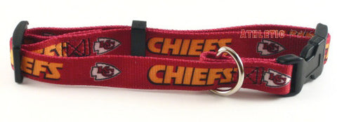 Kansas City Chiefs Dog Collar 2 (Discontinued)