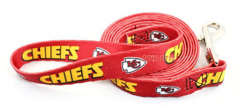 Kansas City Chiefs Dog Leash 2 (Discontinued)