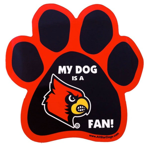 Louisville Cardinals Car Magnet