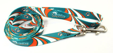 Miami Dolphins Dog Leash 2 (Discontinued)