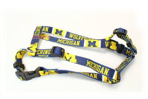 Michigan Wolverines Dog Harness (Discontinued)