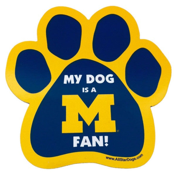 Michigan Wolverines Car Magnet