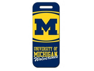 Michigan Wolverines Luggage Tag