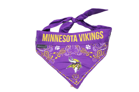 Minnesota Vikings Dog Bandana